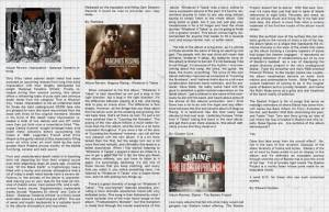 CD review for Canadian hard rock stars, Magnus Raising (Whatever It Takes) for ABORT